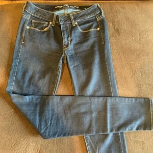 American Eagle skinny jeans, size 2 extra long